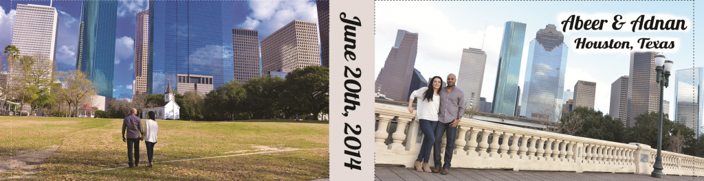 flipbook houston wedding cover