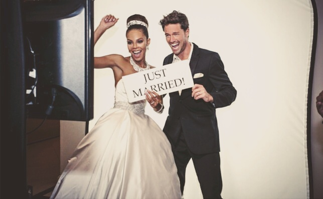 Former Miss USA Crystle Stewart & Max Sebrechts