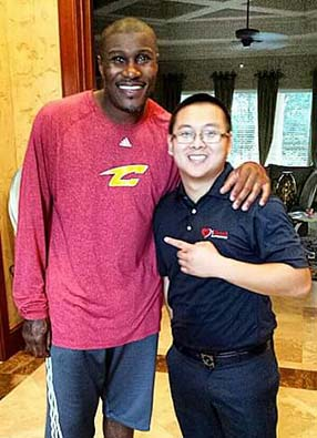 James Posey Assisant Coach of Cleveland Cavaliers of the NBA